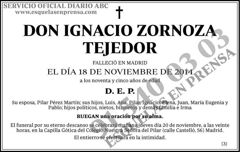 Ignacio Zornoza Tejedor